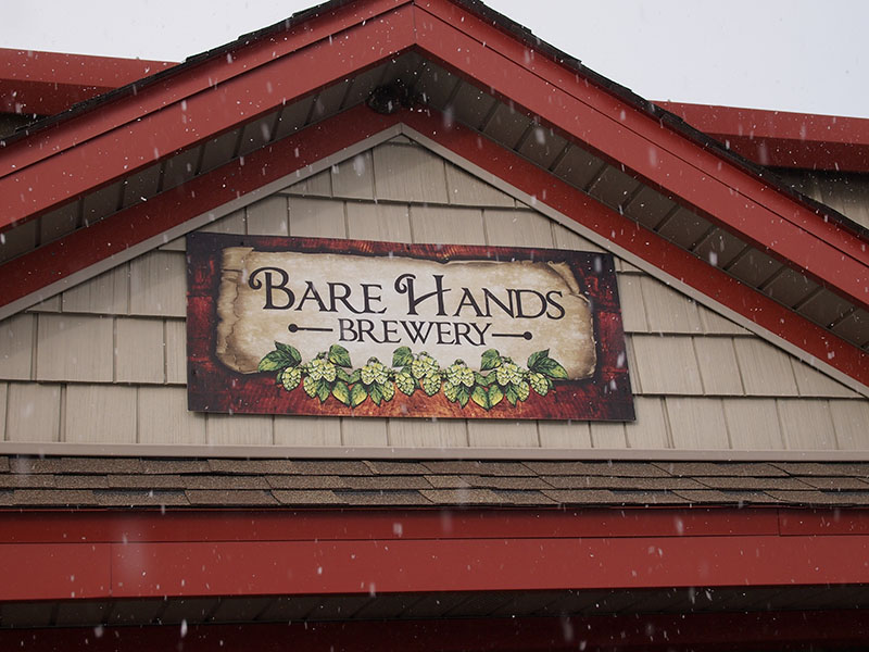 Bare Hands Brewery, Granger, Indiana
