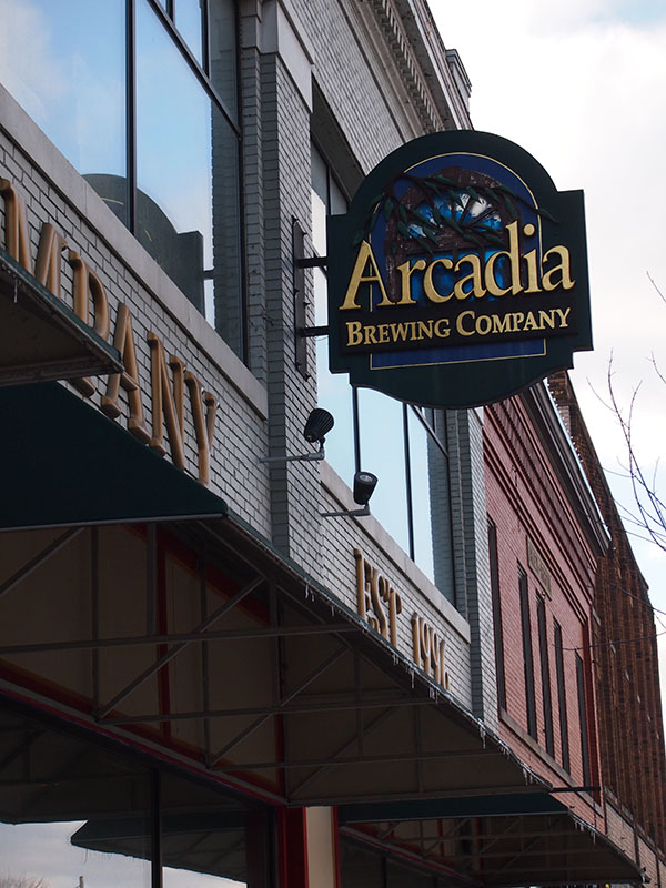 Arcadia Ales, Battle Creek, Michigan